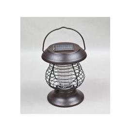 Solar powered pest killer lamp